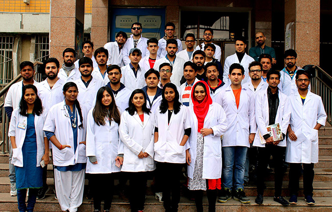 Indian Students Studying MBBS In China