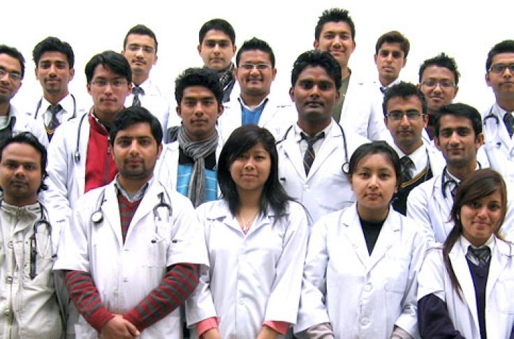 A Tsunami of Indian Students Hits Chinese Medical Universities